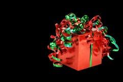 De Gift van Kerstmis royalty-vrije stock foto