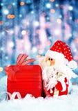 De gift van Kerstmis van Kerstman Royalty-vrije Stock Afbeelding