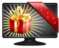 De Gift van Kerstmis, vector Royalty-vrije Stock Afbeelding