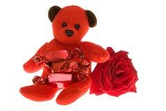 De gift van valentijnskaarten Stock Afbeeldingen