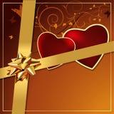 De Gift van valentijnskaarten Royalty-vrije Stock Fotografie