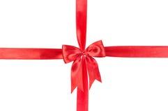 De giftboog van het satijn Royalty-vrije Stock Fotografie