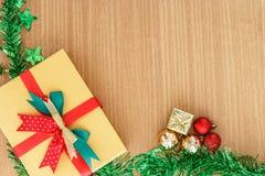 De giftdoos van de Kerstmisdag royalty-vrije stock foto's