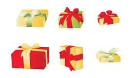 De giftdoos van Kerstmis stock illustratie