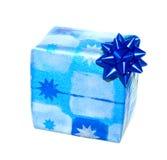 De giftdoos van Kerstmis royalty-vrije stock afbeeldingen