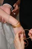De giften van het huwelijk stock afbeeldingen