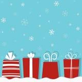 De giften van Kerstmis Royalty-vrije Stock Afbeeldingen