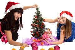 De giften van Kerstmis. Stock Afbeelding