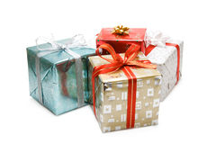 De giften van Kerstmis royalty-vrije stock fotografie