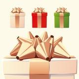 De giften van Kerstmis stock afbeelding