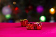 De giften van Kerstmis Stock Afbeeldingen