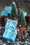 De giften van Kerstmis Royalty-vrije Stock Foto