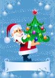De Giften van Kerstmis van Kerstman stock illustratie