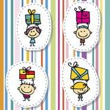 De giften van kinderen royalty-vrije illustratie