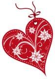 De giftmarkeringen van de Dag van valentijnskaarten Stock Afbeeldingen