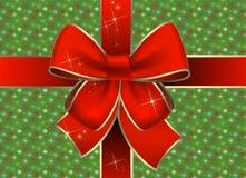 De giftpakket van Kerstmis Stock Fotografie