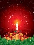 De giftpakketten van Kerstmis Stock Afbeelding