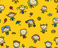 De giftpatroon van kinderen vector illustratie