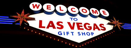 De Giftwinkel van Las Vegas stock afbeelding