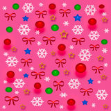 De giftzak van Kerstmis Royalty-vrije Stock Foto's