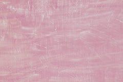 De gipspleister geweven achtergrond van het pastelkleur roze cement De concrete textuur van het muurpleister Perfecte bleke kleur stock afbeeldingen