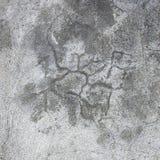 De gipspleistertextuur van de Grunge grijze muur, donkere natuurlijke grijze rustieke concrete pleister macroclose-up, oude oude  Royalty-vrije Stock Afbeeldingen