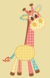 De giraf van de toepassing. Stock Afbeeldingen