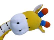 De giraf van het stuk speelgoed Stock Afbeeldingen