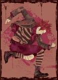 De Gitaar Grunge van de lucht Royalty-vrije Stock Afbeelding