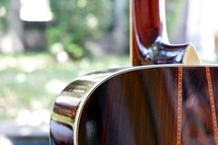 De gitaar stock afbeelding