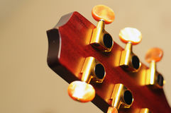 De gitaar sluit detail Royalty-vrije Stock Foto
