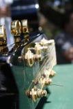 De gitaar van de close-up Stock Afbeeldingen