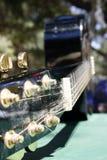 De gitaar van de close-up Stock Afbeelding
