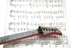 De gitaar van de rots Royalty-vrije Stock Afbeelding