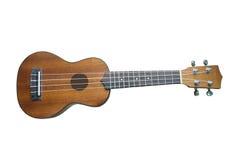 De gitaar van de ukelele die op achtergrond wordt geïsoleerd Royalty-vrije Stock Afbeelding
