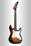 De gitaar van Stratocaster Stock Afbeelding