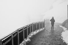 de glace mer βλέπει στη διάβαση πεζών Στοκ Φωτογραφίες
