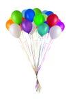 De glanzende ballons van de kleur Royalty-vrije Stock Fotografie