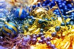 De glanzende decoratie van Kerstmis Royalty-vrije Stock Foto's