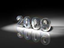 De glanzende illustratie van 2009 royalty-vrije stock fotografie