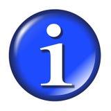 De glanzende knoop van het informatieWeb Stock Fotografie