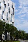 De glanzende moderne bouw Stock Foto