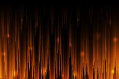 De glanzende oranje abstracte achtergrond van de gradiëntkleur stock afbeelding