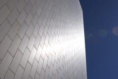 De glanzende zilveren bouw Royalty-vrije Stock Foto's