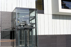 De glaslift Stock Foto