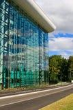 De glasmuur Stock Foto