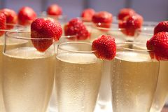 De glazen van Champagne Royalty-vrije Stock Foto