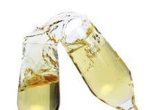 De glazen van Champagne royalty-vrije stock foto's