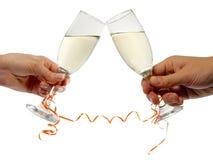 De glazen van Champagne Royalty-vrije Stock Fotografie