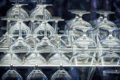 De glazen van de alcoholdrank Stock Afbeelding